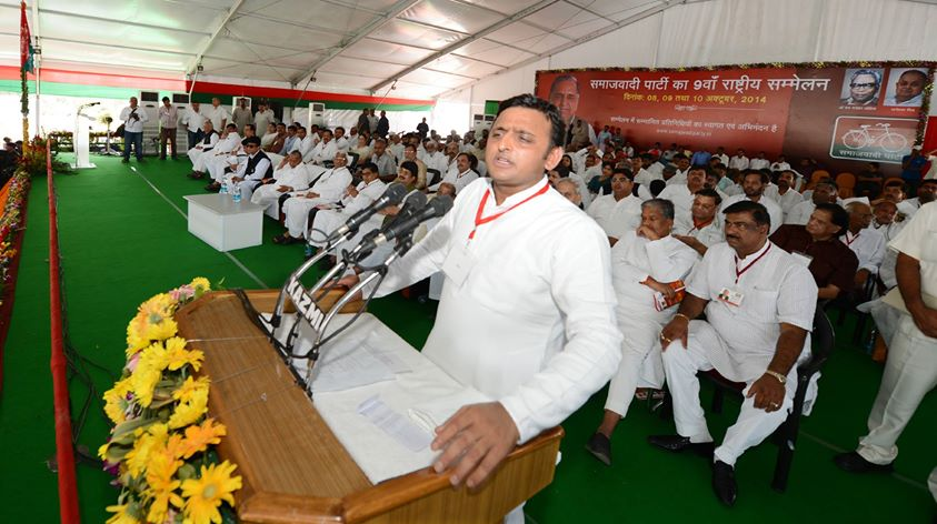 Chief Minister Mr. Akhilesh Yadav condoles the death of eminent freedom fighter Captain Abbas Ali