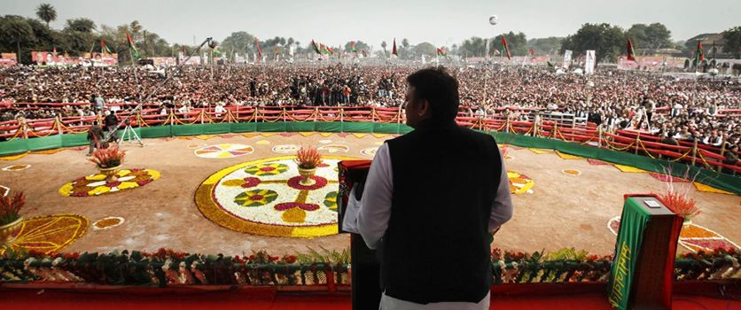 Modi's Gujarat model is for dividing India: Akhilesh Yadav