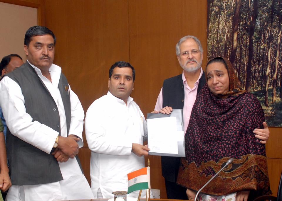 बदायूं सांसद धर्मेंद्र यादव ने की पहल- मिले गृह मंत्री राजनाथ सिंह और दिल्ली उपराज्यपाल से