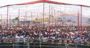 राष्ट्रीय अध्यक्ष श्री अखिलेश यादव जी की राबर्ट्सगंज-घोरावल-ओबरा, सोनभद्र में रैली