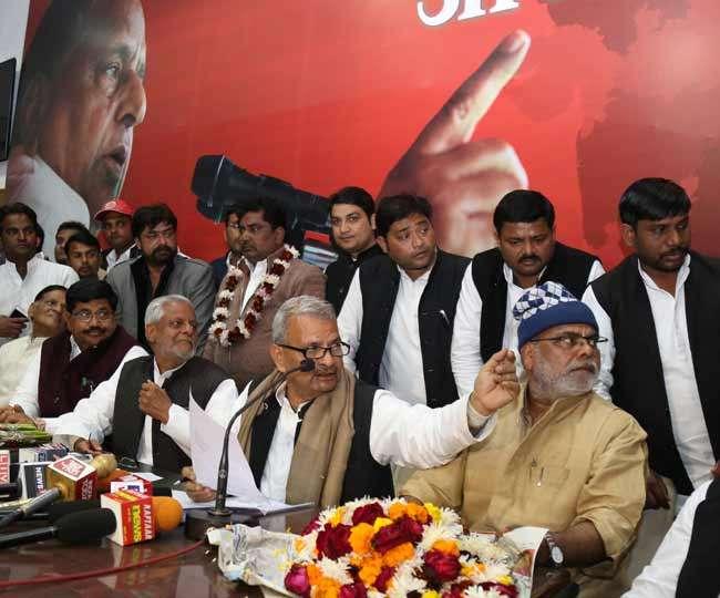दूसरे दल छोड़कर समाजवादी पार्टी में आ गए गाजीपुर के पूर्व सांसद और पूर्व विधायक