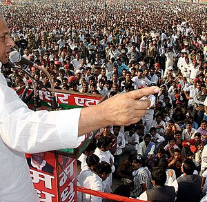 Samajwadi Party supremo Mulayam Singh Yadav confident about Third Front govt at the Centre