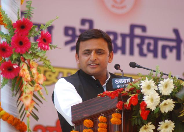 Chief Minister, Shri Akhilesh Yadav launched the DMIC project in Uttar Pradesh