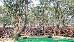 मुख्यमंत्री अखिलेश यादव लखीमपुर खीरी में