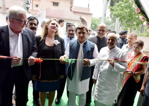 मुख्यमंत्री श्री अखिलेश यादव ने हिण्डन नदी यात्रा कार्यक्रम को सम्बोधित किया