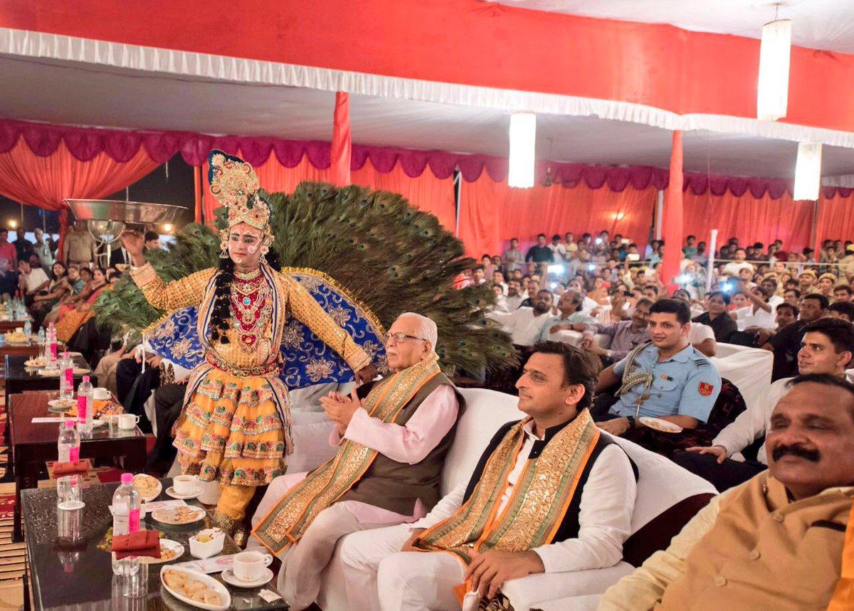 मुख्यमंत्री श्री अखिलेश यादव ने प्रदेशवासियों को श्रीकृष्ण जन्माष्टमी की बधाई एवं शुभकामनाएं दीं
