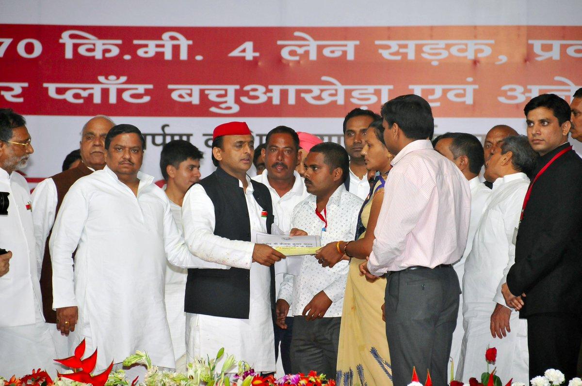 मुख्यमंत्री श्री अखिलेश यादव ने जनपद उन्नाव के भ्रमण के दौरान कीं ये घोषणाएं