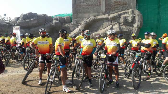The first bicycle highway of India inaugurated at Lion Safari