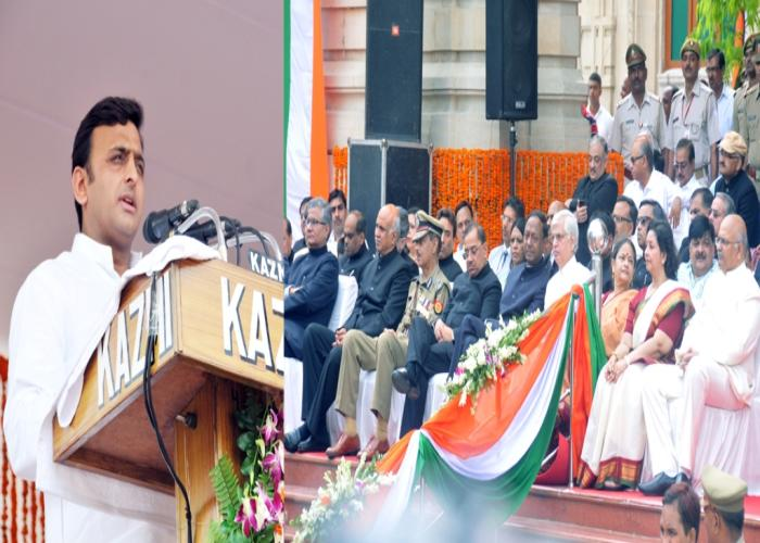 Working for comprehensive development: Akhilesh Yadav
