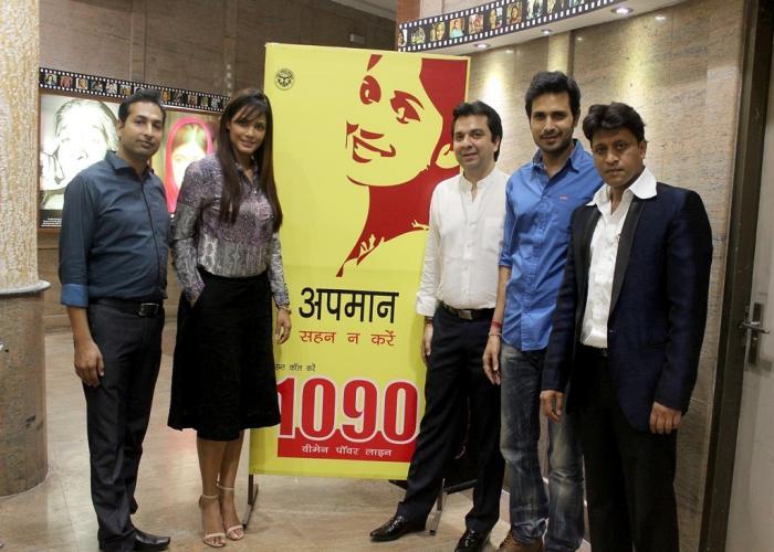 फिल्म अभिनेत्री सुश्री नीतू चन्द्रा ने 25 अक्टूबर, 2015 को लखनऊ स्थित '1090' वीमेन पावर लाइन सेवा का भ्रमण किया।