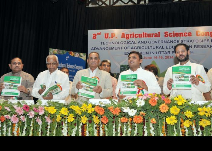 State government abetting facilities to encourage and promote the agriculture sector and improve economic conditions of farmers: Akhilesh Yadav