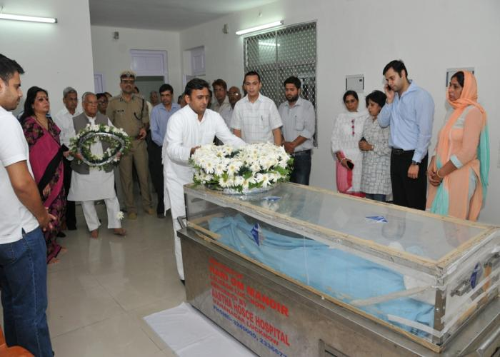 Karnail Singh died Advisor to Chief Minister Akhilesh Yadav