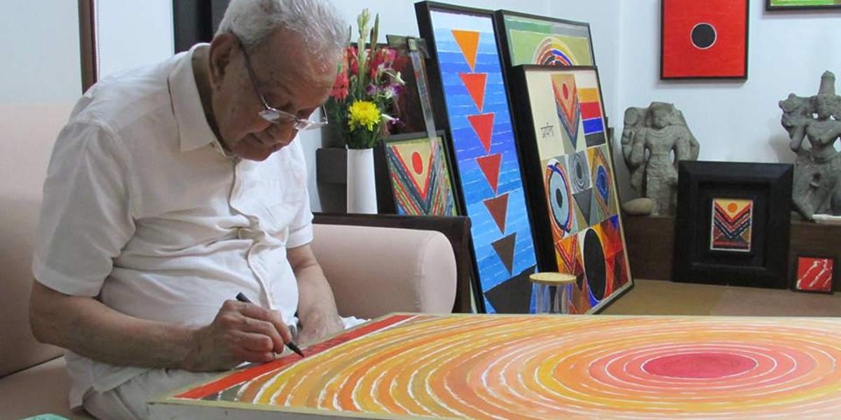 सुप्रसिद्ध चित्रकार श्री सैयद हैदर रज़ा
