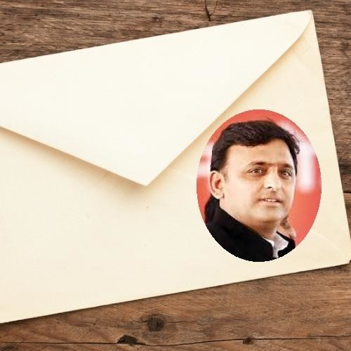 घर-घर पहुंच रही है अखिलेश की लिखी ये चिट्ठी