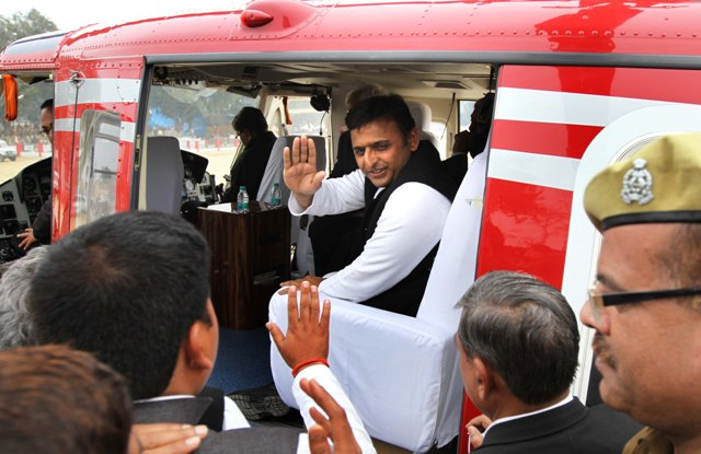 Akhilesh Yadav hopeful of positive showing in Lok Sabha polls