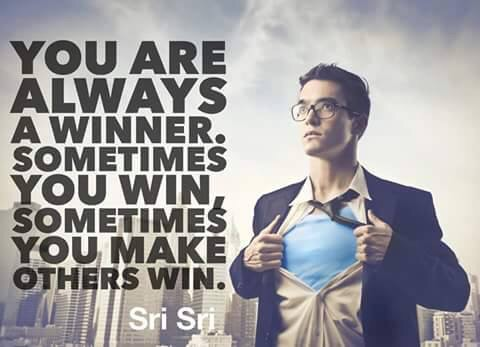 You are a Winner, Always!