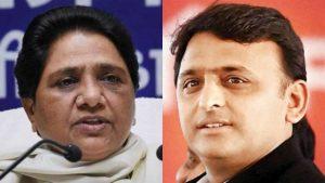 Mayawati - Akhilesh Yadav