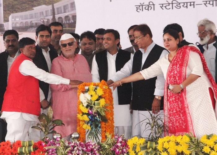 मुख्यमंत्री श्री अखिलेश यादव ने जनपद रामपुर में 357.60 करोड़ रु0 की विकास योजनाओं का लोकार्पण किया