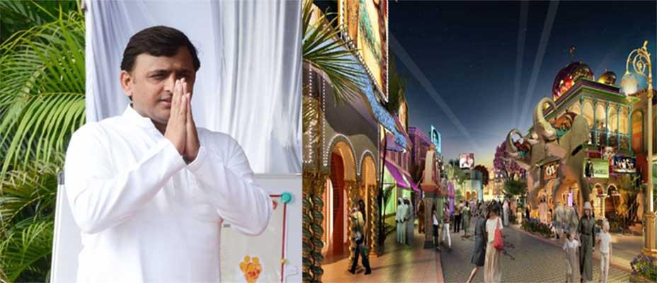 मुख्यमंत्री श्री अखिलेश यादव द्वारा फिल्म 'मुगल-ए-आज़म' की थीम पर इटावा लायन सफारी के निकट स्मारक, पर्यटक थीम पार्क/पर्यटक स्थल बनाये जाने के निर्देश