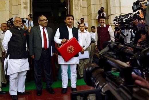 Chief Minister Mr. Akhilesh Yadav presents state budget for 2015-16