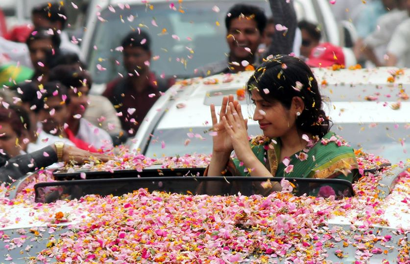 SP govt has done more Development work than any govt in UP: Dimple Yadav