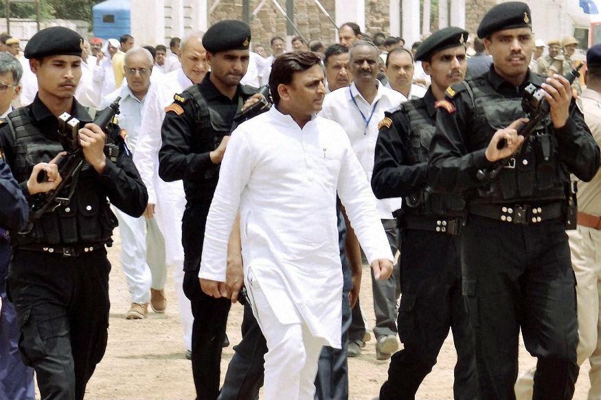 मुख्यमंत्री अखिलेश यादव को बढ़ा खतरा, एसपीजी तर्ज पर सुरक्षा