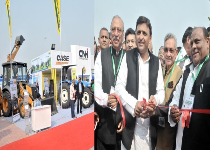 मुख्यमंत्री श्री अखिलेश यादव 28 जनवरी, 2016 को जनेश्वर मिश्र पार्क, लखनऊ में द्वितीय अन्तर्राष्ट्रीय एग्री हाॅर्टीटेक उत्तर प्रदेश2016 का फीता काटकर उद्घाटन करते हुए।