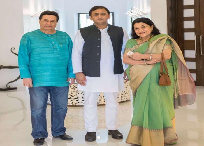 मुख्यमंत्री श्री अखिलेश यादव से 6 सितम्बर, 2016 को उनके सरकारी आवास पर सुप्रसिद्ध ग़ज़ल गायिका सुश्री रीता गांगुली एवं प्रसिद्ध गायक श्री अनूप जलोटा ने मुलाकात की।