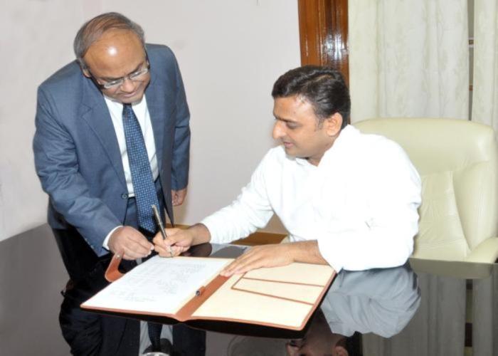 Akhilesh Yadav orders immediate suspension of Mr. Salil Kumar Shukla, Assistant Forest Conservator, the then Forest Officer of Modinagar range Ghaziabad