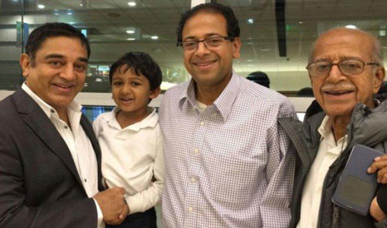 कमल हसन के बड़े भाई का लंदन में दिल का दौरा पड़ने से देहांत